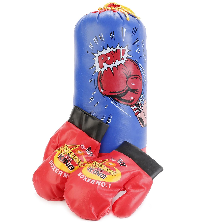 Боксерская груша 1511S059 боксерская груша уфси на растяжке цвет в ассортименте диаметр 22 см