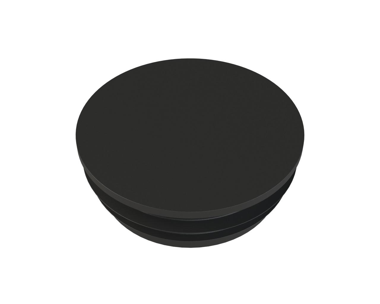 Заглушка для столба Арскон Заглушка пластиковая для круглой трубы Д 76мм.(упаковка 40шт.), черный цена