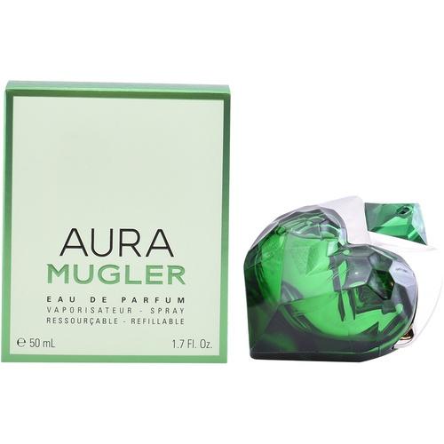 Mugler Aura refillable 50 мл mugler aura парфюмерная вода флакон для повторной заправки aura парфюмерная вода флакон для повторной заправки