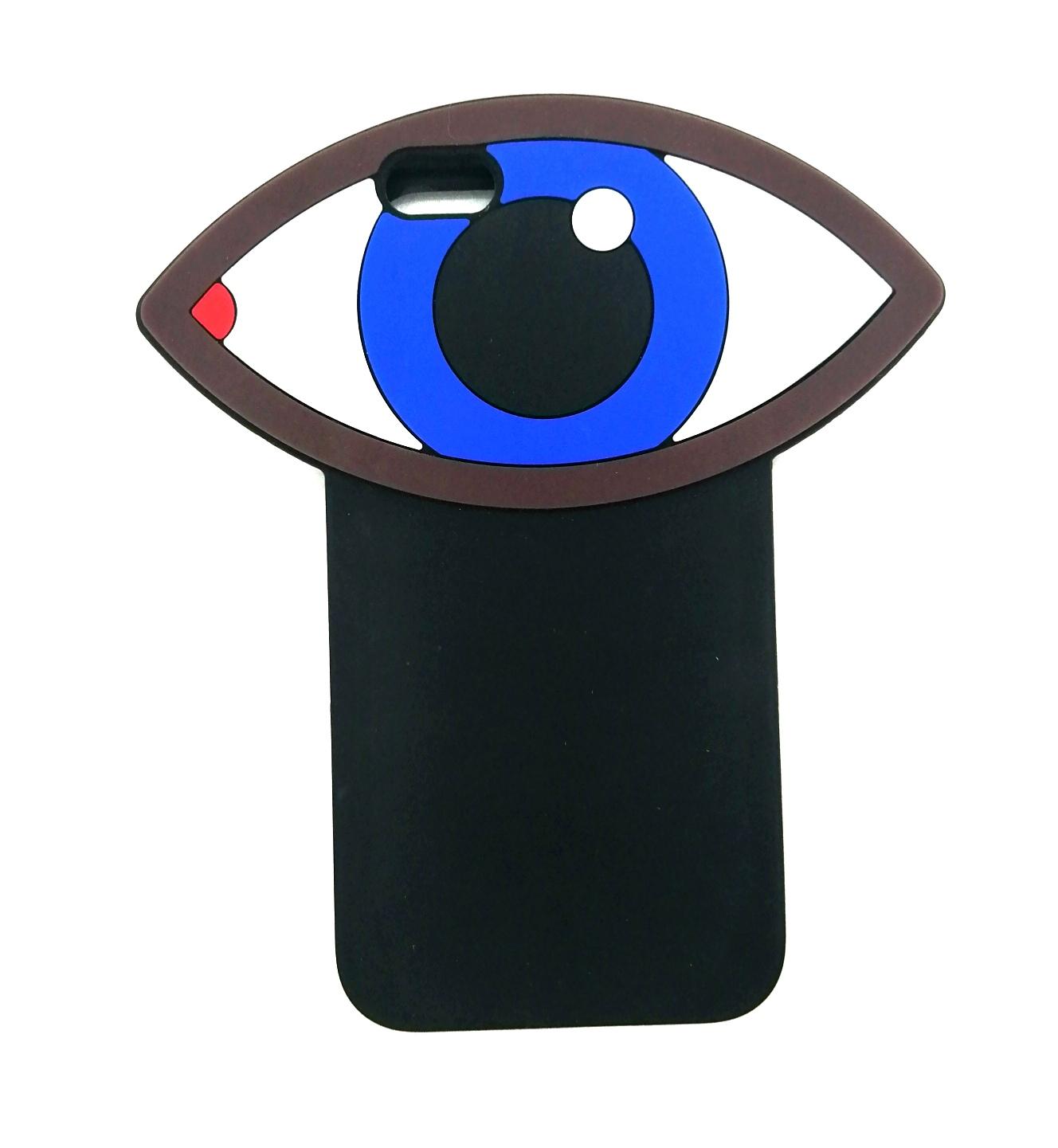 Чехол для сотового телефона ZUP Case Eyes для iPhone 6/6s, черный чехол для сотового телефона zup lord nermal для iphone xs max черный