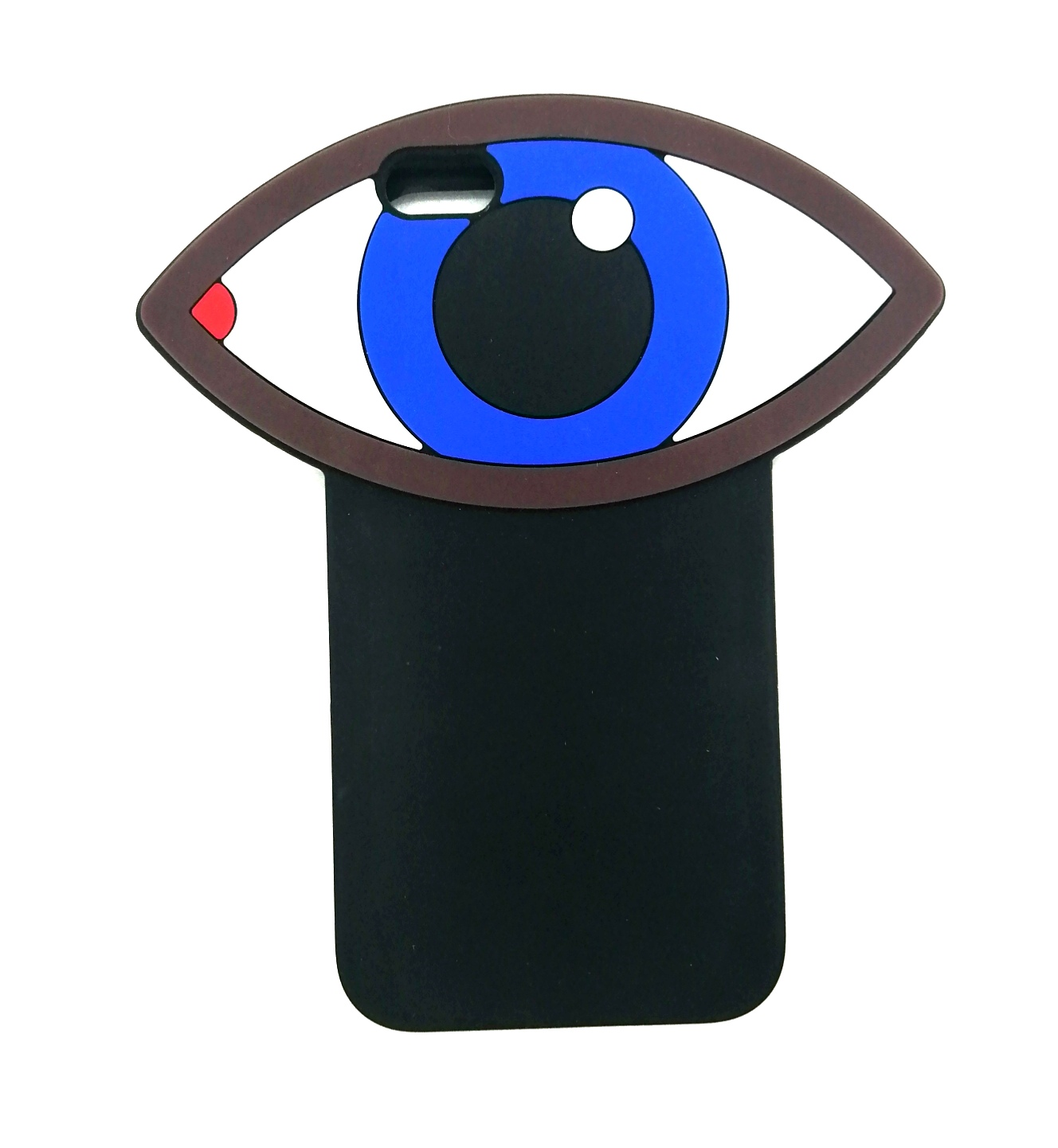 лучшая цена Чехол для сотового телефона ZUP Case Eyes для iPhone 5/5S/SE, черный
