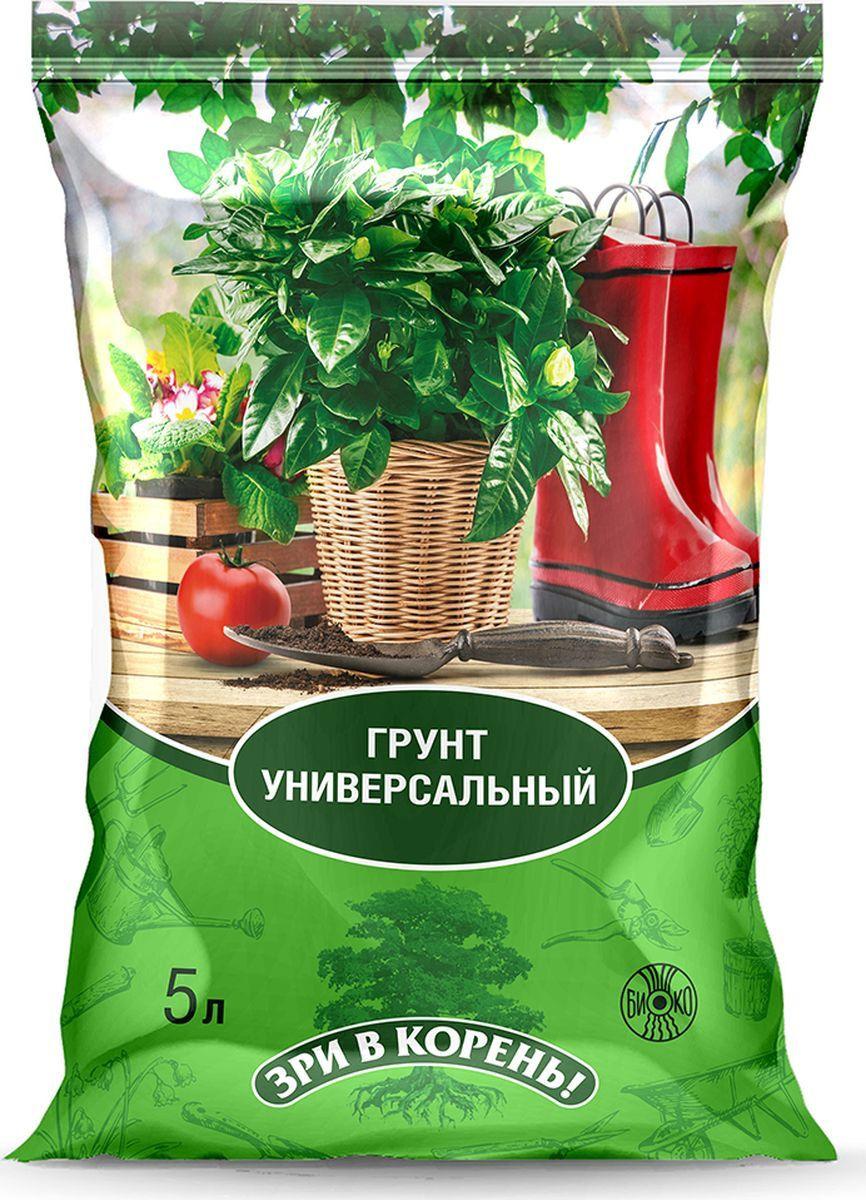 Грунт Зри в корень! универсальный, 5 л для растений запас питательных веществ нужен для