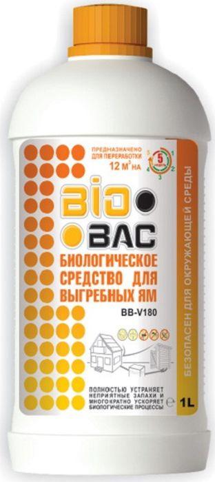 Средство для выгребных ям BioBac биологическое, 1 л
