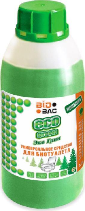 Средство для септиков и биотуалетов BioBac Эко Грин универсальное, 500 мл