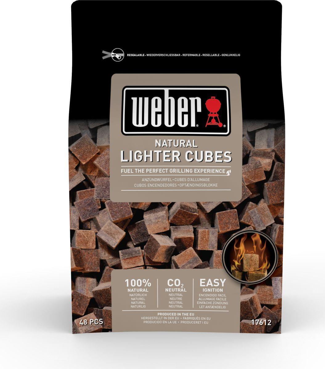 Кубики для розжига Weber натуральные