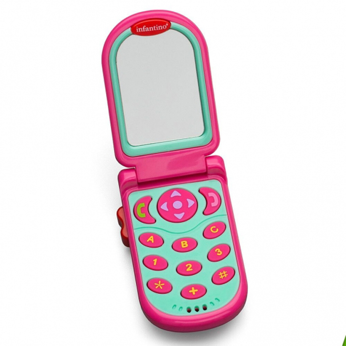 Развивающая игрушка infantino 506-504 розовый развивающая игрушка infantino розовый телефон 506 504