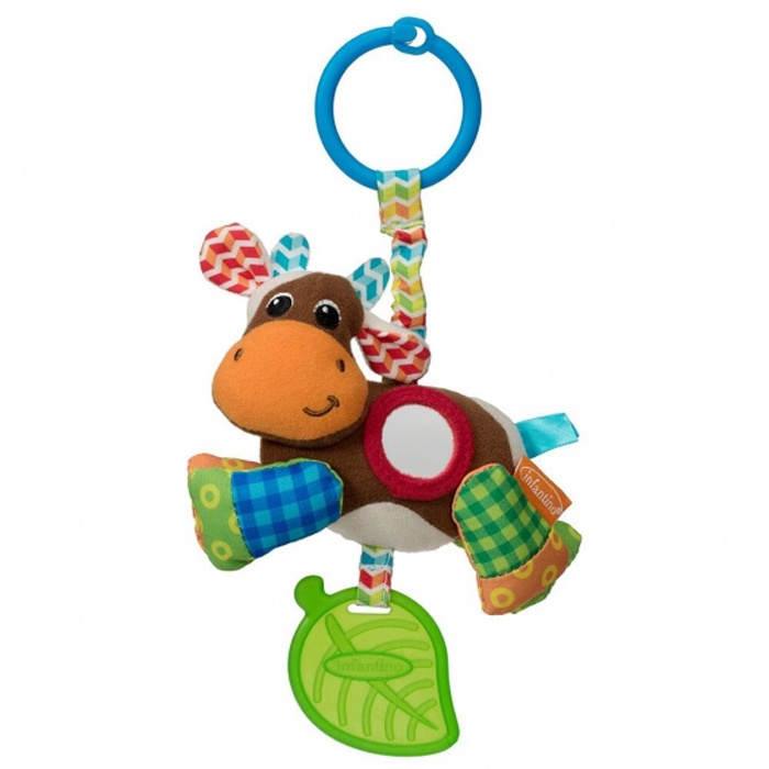 Игрушка-подвеска infantino 506-845 разноцветный развивающая игрушка infantino единорог