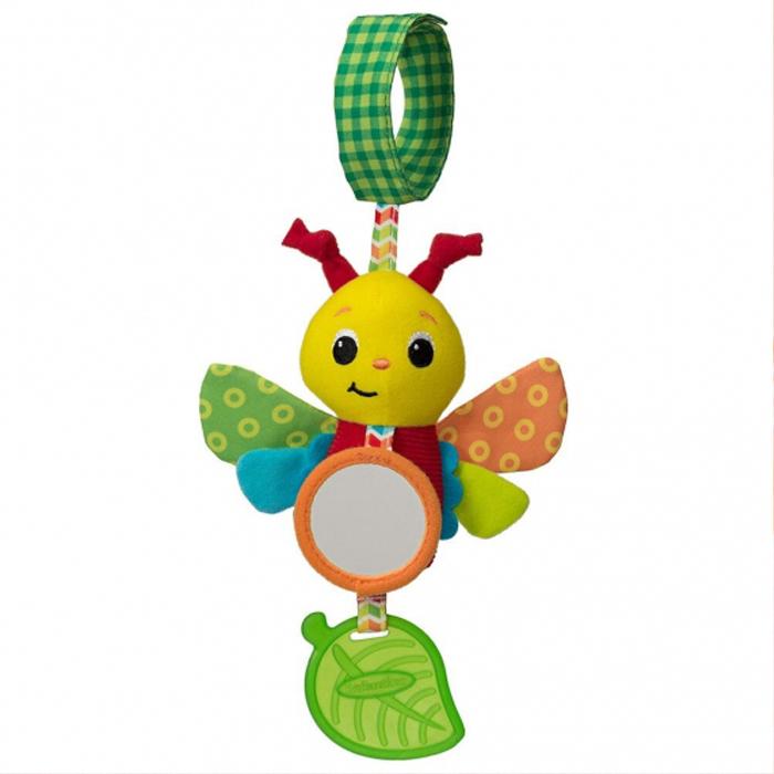 Игрушка-подвеска infantino 506-843 разноцветный развивающая игрушка infantino единорог