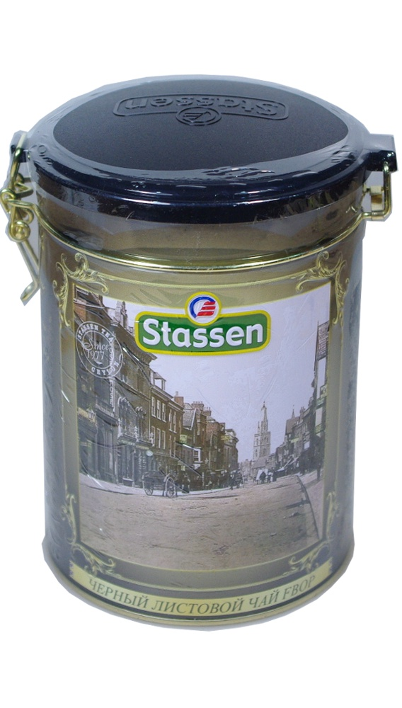 Чай листовой stassen 38145, 300 basilur frosty afternoon черный листовой чай 100 г жестяная банка