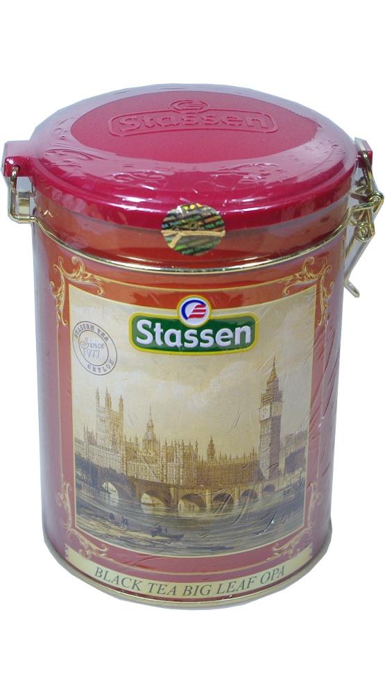 Чай листовой stassen 431146, 300 basilur frosty afternoon черный листовой чай 100 г жестяная банка