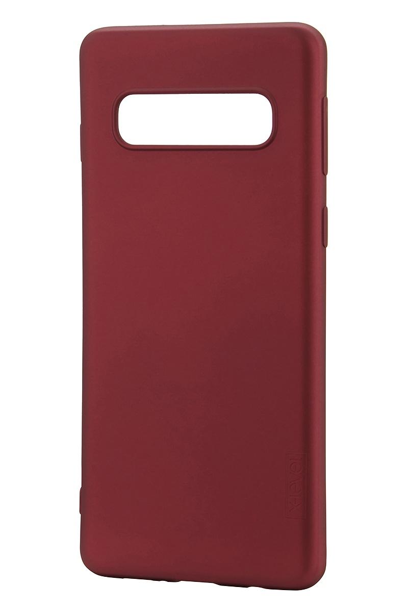 Фото - Чехол для сотового телефона X-level Guardian Series для Samsung S10, бордовый чехол для сотового телефона x level guardian series для samsung s10e черный