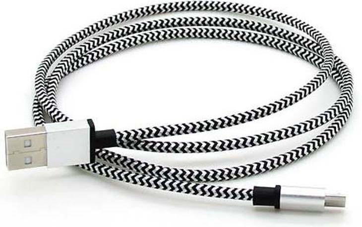 Дата-кабель Smartbuy iK-12 USB - micro USB, белый, 1,2 м цена и фото