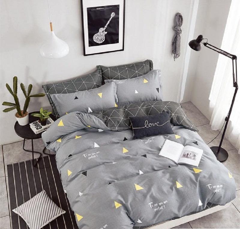 Комплект постельного белья Дом Текстиля SULYAN Идеал, светло-серый, серый, темно-серый, желтый, белый цена и фото