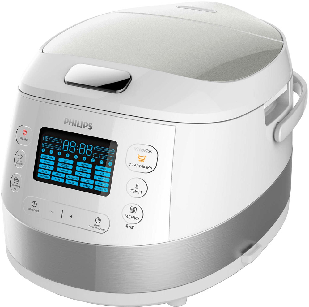 Мультиварка Philips HD4734/03, белый