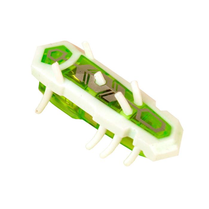 Игрушечный робот Hexbug Nano Nitro белый, зеленый