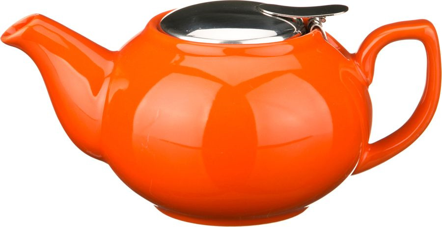 Чайник заварочный Agness, 470-015, оранжевый, 600 мл чайник заварочный agness 470 015 оранжевый 600 мл