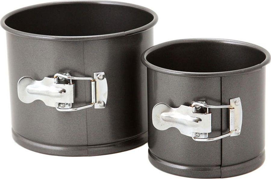 Набор форм для выпечки Agness, 708-006, черный, 2 шт набор форм для выпечки metaltex 6 шт 25 91 24