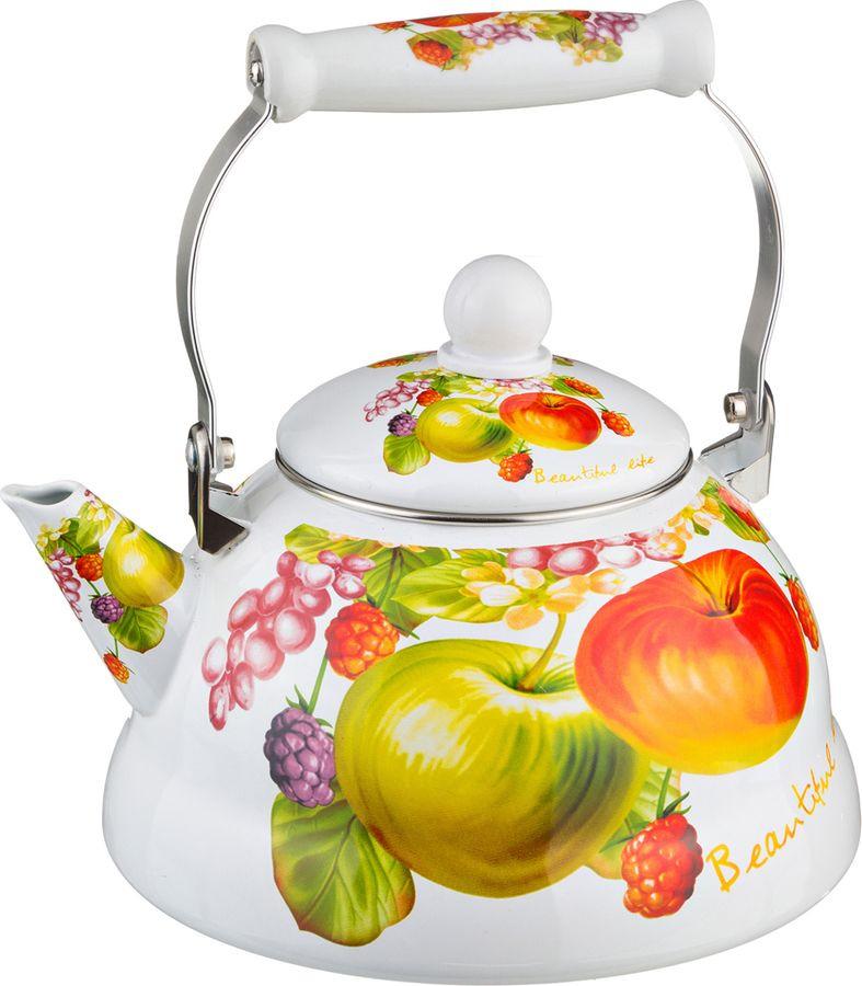 Чайник Agness, 934-303, мультиколор, 3 л чайник 1 3 л птицы santafe чайник 1 3 л птицы