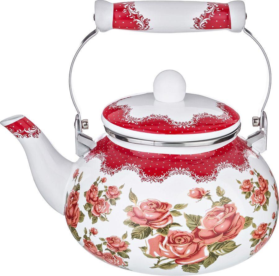Чайник Agness, 934-353, мультиколор, 2,5 л чайник agness 934 316 мультиколор 4 л