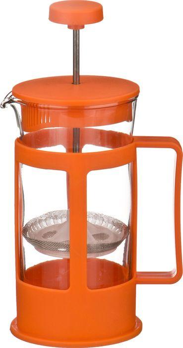 Френч-пресс Agness, 891-522, оранжевый, 300 мл agness кухонная утварь tarah 2500 мл