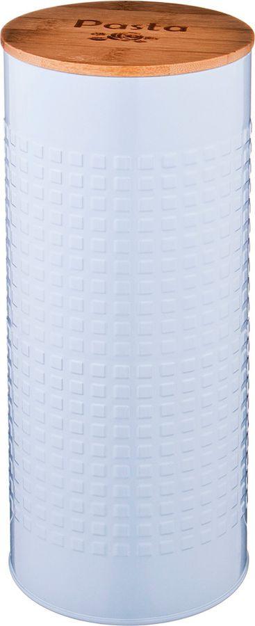 Универсальная емкость Agness Спагетти, 790-151, белый, 11 х 11 х 27 см
