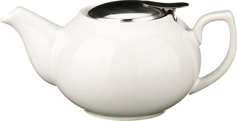 Чайник заварочный Agness, 470-014, белый, 600 мл чайник заварочный agness 600 мл бежевый