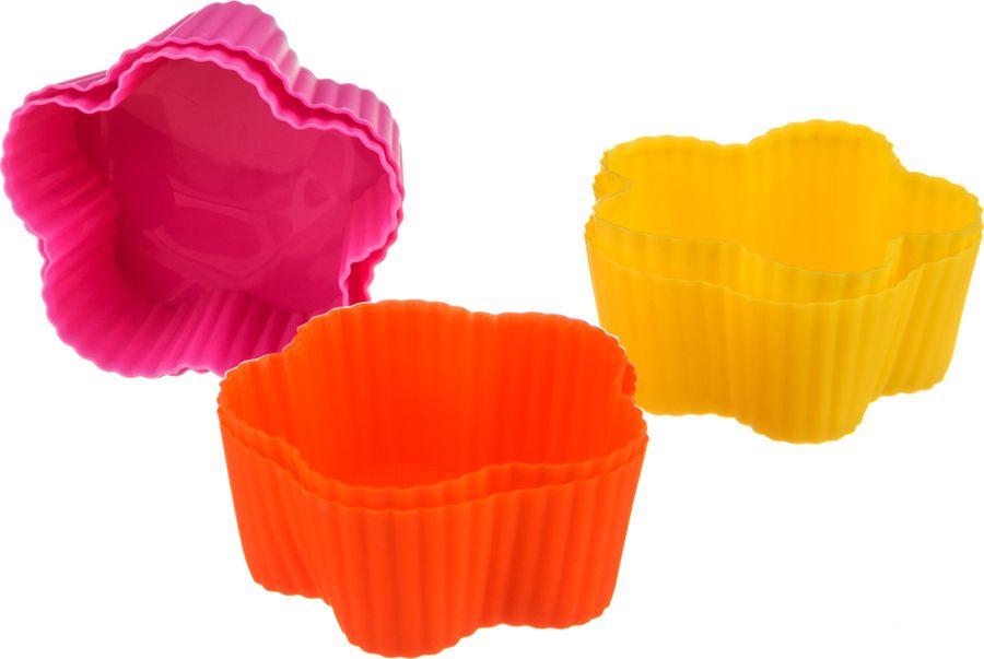 Набор форм для выпечки Agness, 710-116, мультиколор, 6 шт набор форм для выпечки metaltex 6 шт 25 91 24