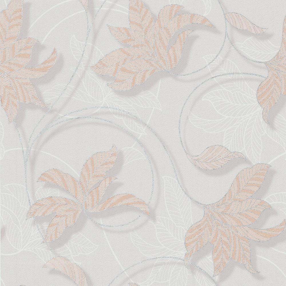 Обои Московская Обойная Фабрика (МОФ) Иланг, белый, светло-серый, серый, серебристый, бежевый, кремовый, светло-бежевый цены