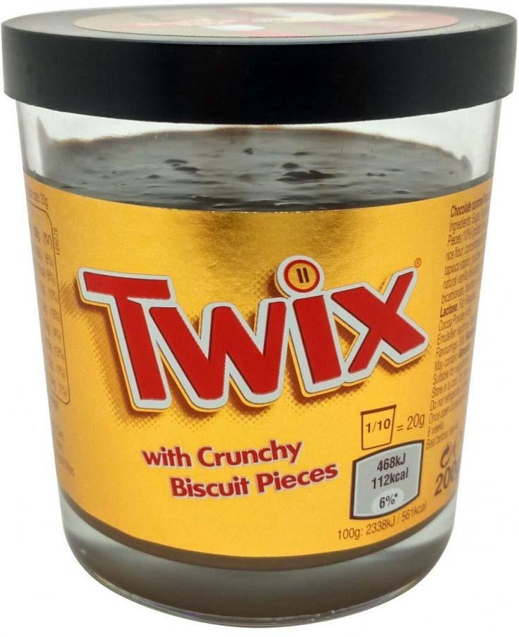 Шоколадная паста Twix, 200 г