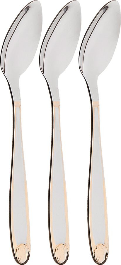 Набор чайных ложек Agness, 922-283, 3 шт набор чайных ложек dalper президент 3 предмета