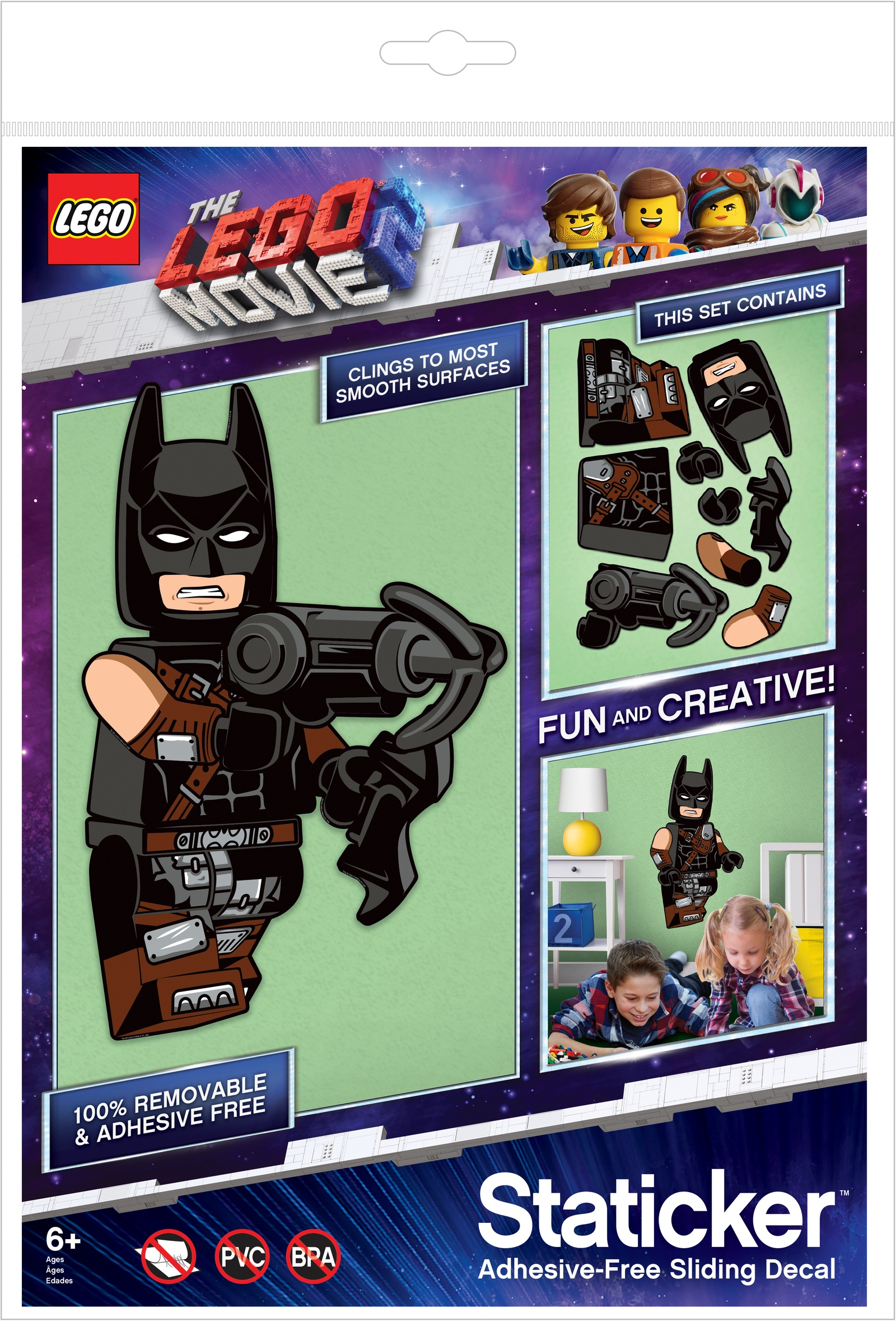 Набор наклеек LEGO Movie (Муви)