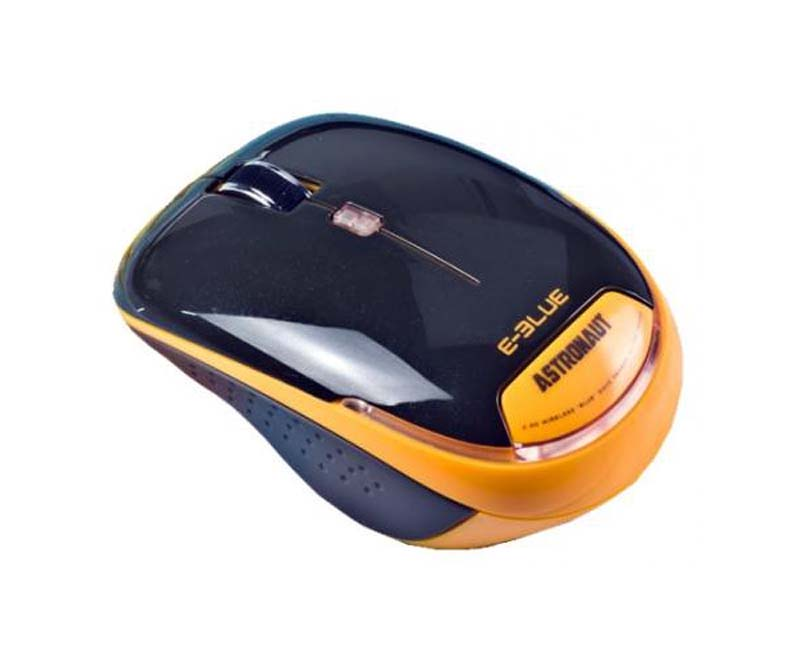 Мышь E-BLUE Astronaut, оранжевый