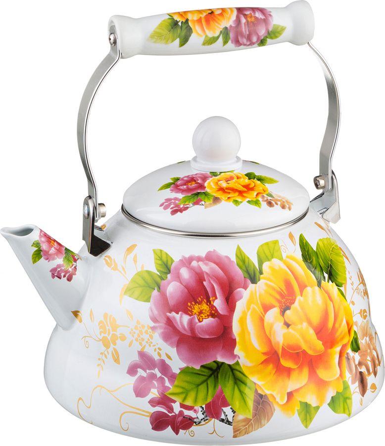 Чайник Agness, 934-300, мультиколор, 3 л чайник 1 3 л птицы santafe чайник 1 3 л птицы
