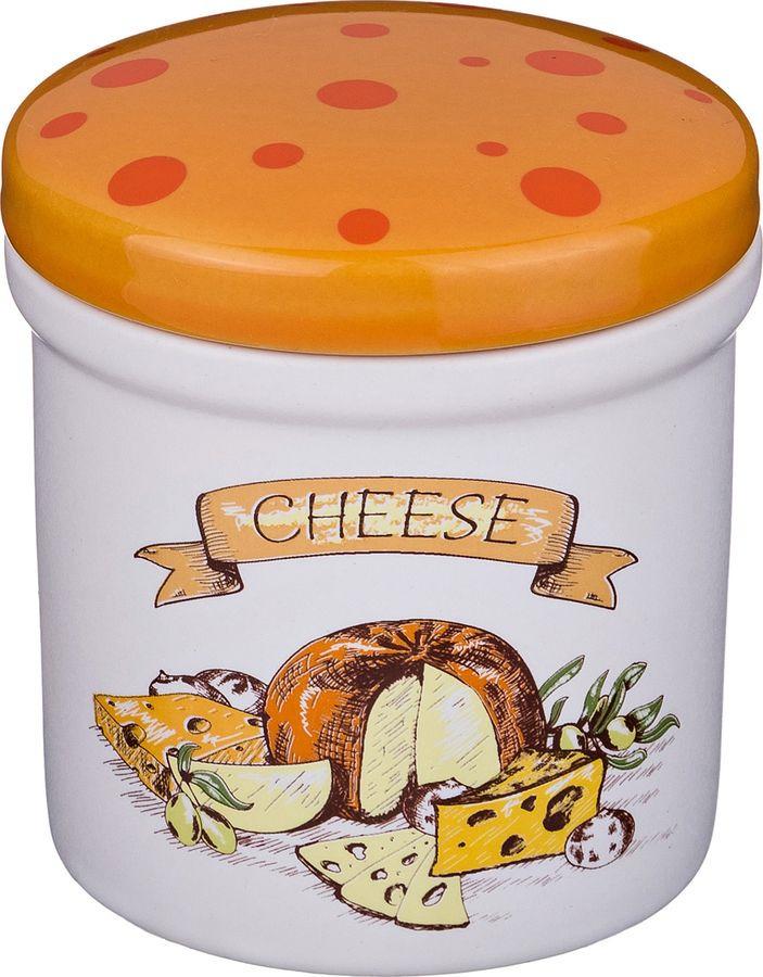Банка для сыпучих продуктов Agness Cheese, 470-365, разноцветный, 200 мл cheese rolling races