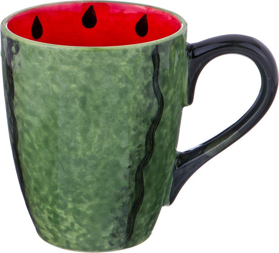 Кружка Agness, 585-088, зеленый, 300 мл все цены