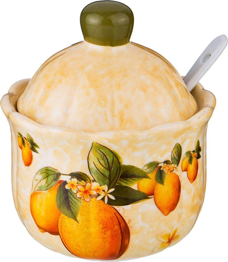 Сахарница Agness Лимоны, 358-1363, разноцветный, 280 мл358-1363САХАРНИЦА ЛИМОНЫ 10*10*12 СМ. 280 МЛ. (КОР=36ШТ.)