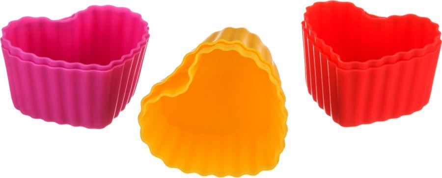 Набор форм для выпечки Agness, 710-114, мультиколор, 6 шт набор форм для выпечки metaltex 6 шт 25 91 24