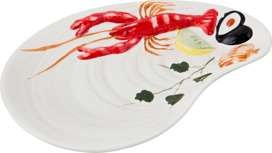 Блюдо Agness, 585-067, разноцветный, 27 х 20 х 4 см шнуровка бэмбидисней в кор 18шт