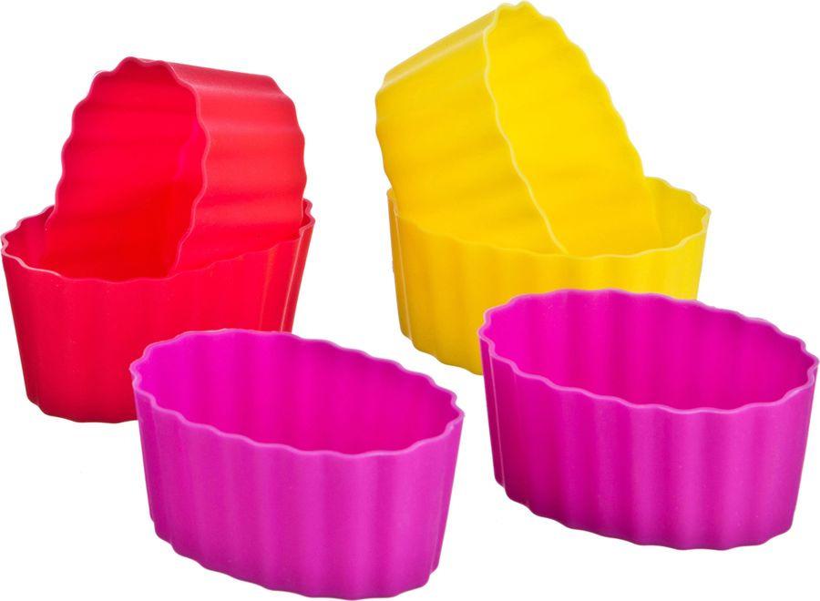 Набор форм для выпечки Agness, 710-115, мультиколор, 6 шт набор форм для выпечки metaltex 6 шт 25 91 24