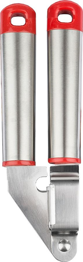 Пресс для чеснока Agness, 710-369, серебристый, 18 х 6 х 3 см пресс для чеснока fissman 7005 высокоуглеродистая сталь