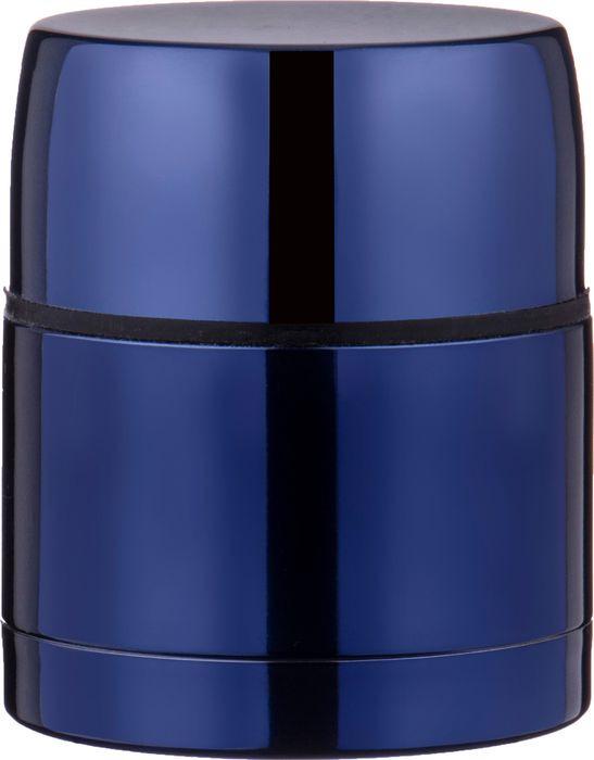 Термос Agness, с широким горлом, 910-064, синий, 500 мл