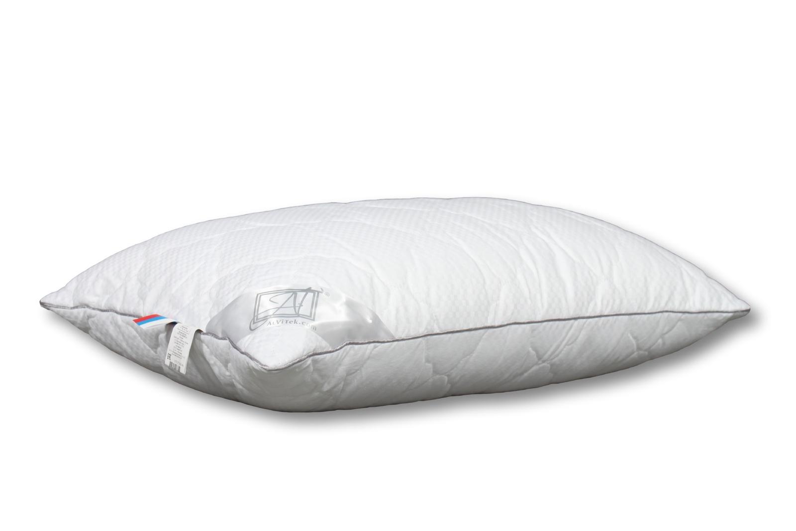 Подушка Альвитек Адажио-люкс Искусственный лебяжий пух, размер: 50 х 70