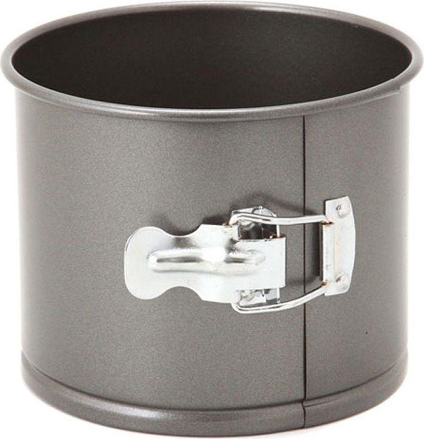 Форма для выпечки Agness, разъемная, с антипригарным покрытием, 708-005, черный, 16 х 13 см форма для выпечки кекса kaiser inspiration разъемная с антипригарным покрытием 30 х 11 см