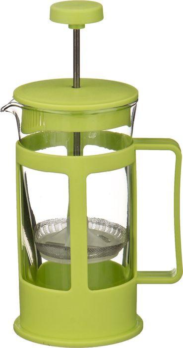 Френч-пресс Agness, 891-527, светло-зеленый, 600 мл agness кухонная утварь tarah 2500 мл