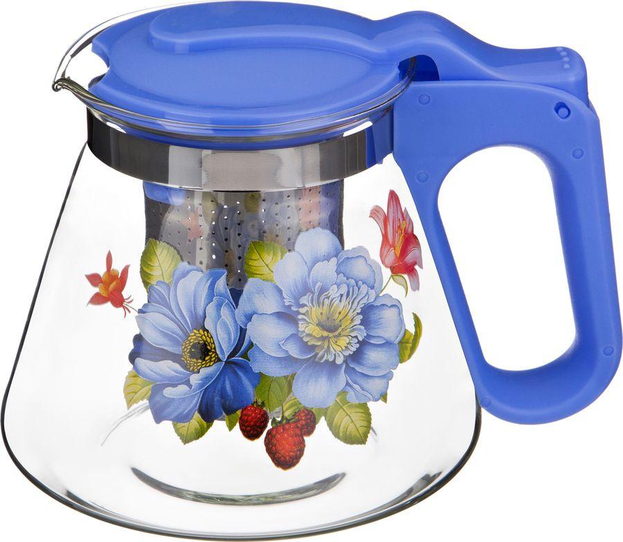 Чайник заварочный Agness, с фильтром, 885-053, разноцветный, 700 мл printio vinyl scratch
