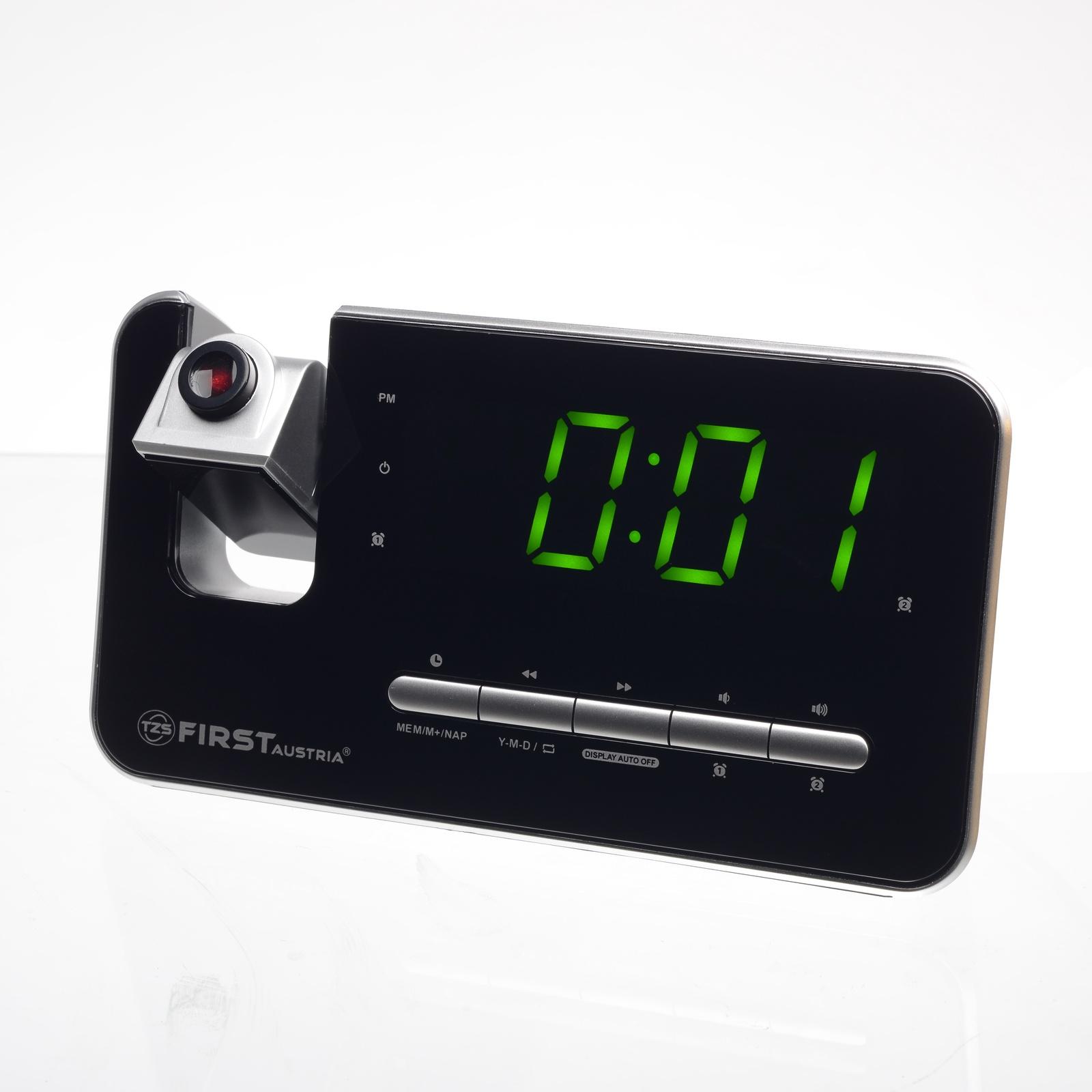 цена на Радио-будильник First FA-2421-7 Silver