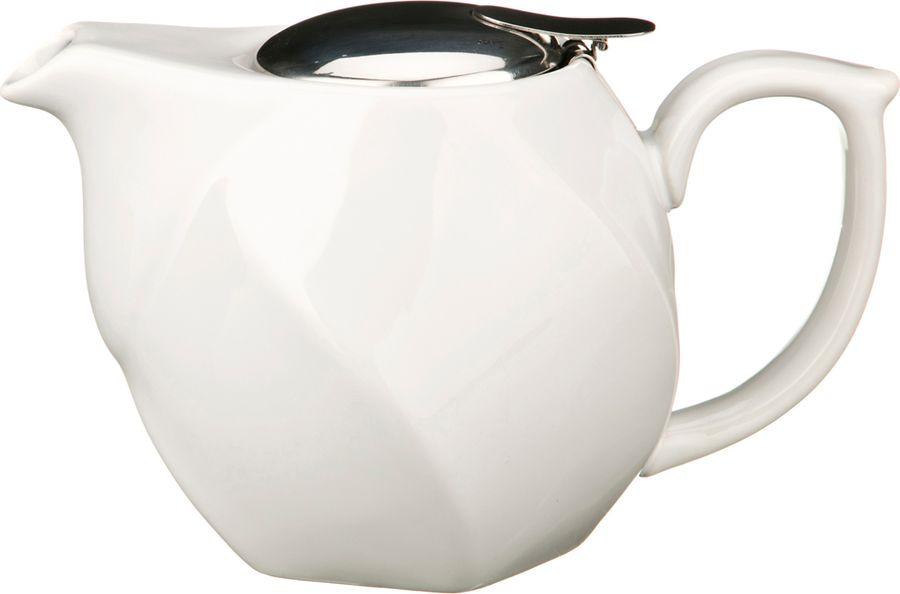 Чайник заварочный Agness, 470-188, белый, 750 мл чайник заварочный agness 470 015 оранжевый 600 мл