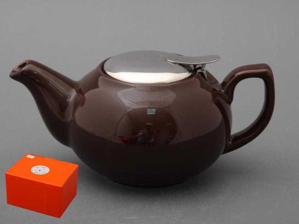 Чайник заварочный Agness, 470-016, черный, 600 мл чайник заварочный agness 600 мл бежевый