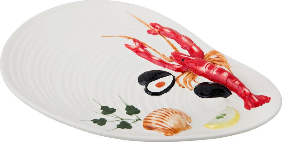 Блюдо Agness, 585-072, разноцветный, 33 х 23 х 3 см шнуровка бэмбидисней в кор 18шт