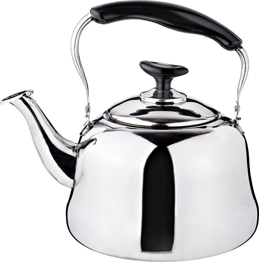 Чайник Agness, 909-603, серебристый, 3 л чайник agness 3 л узор